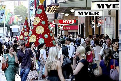 Australian Christmas Shopping