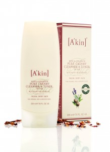 Akin Cleanser and Toner