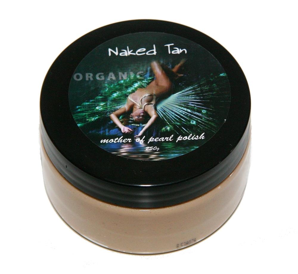 Naked Tan Mother Of Pearl Polish