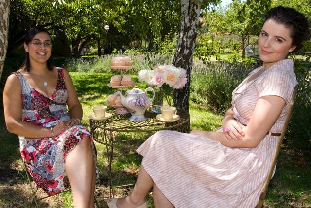 Ladies In The Garden