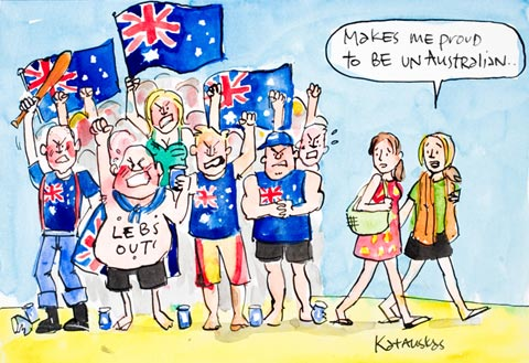 Proud to be Un-Australian