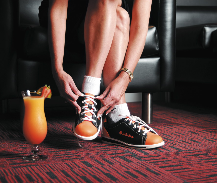 AMF Bowling Shoes and Cocktail