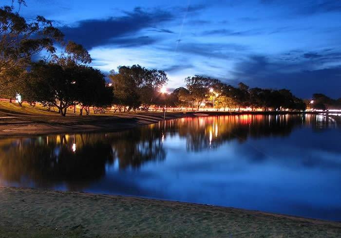 Maroochy River at Sunset
