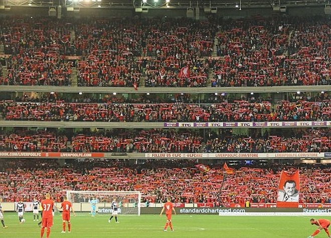 Liverpool vs Melbourne Victory at MCG