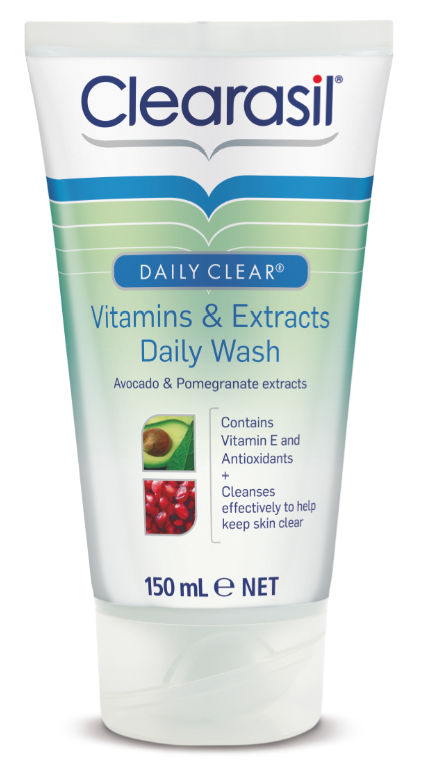 Clearasil Vitamins and Extracts Daily Wash