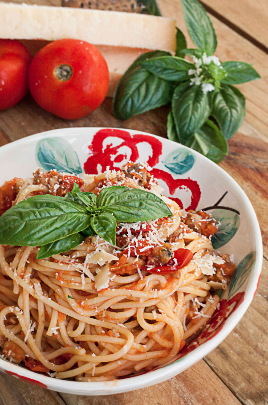 Italian Sausage Spaghetti Recipe