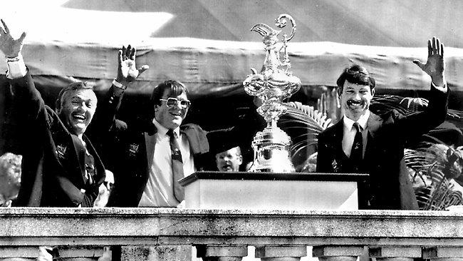 John Bertrand 1983 America's Cup