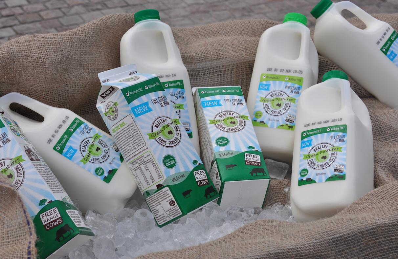 Green Pastures Milk
