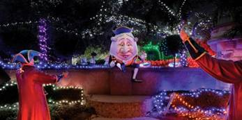 Christmas Lights Spectacular at the Hunter Valley Gardens