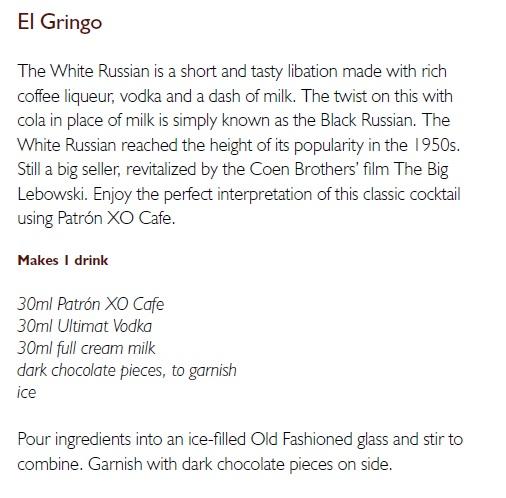 El Grino Cocktail Recipe