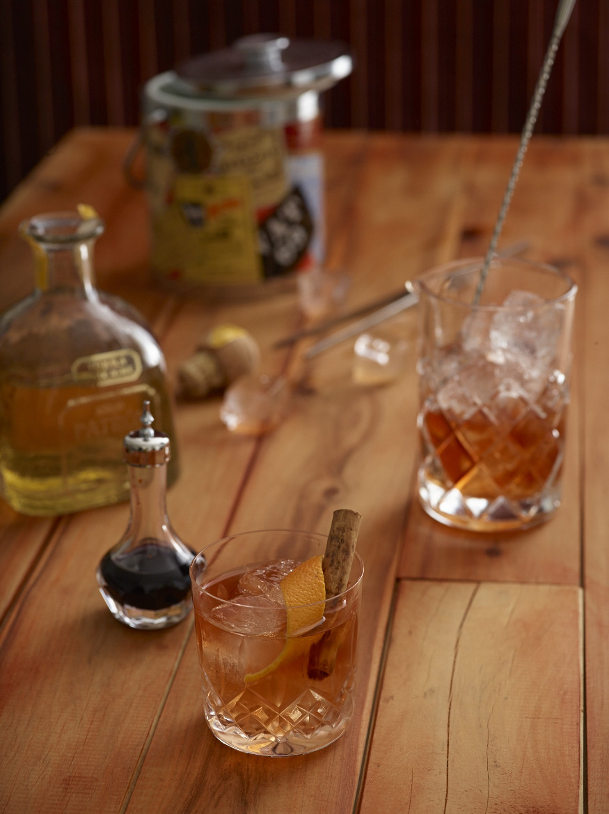 Spiced Agave Old Fashioned