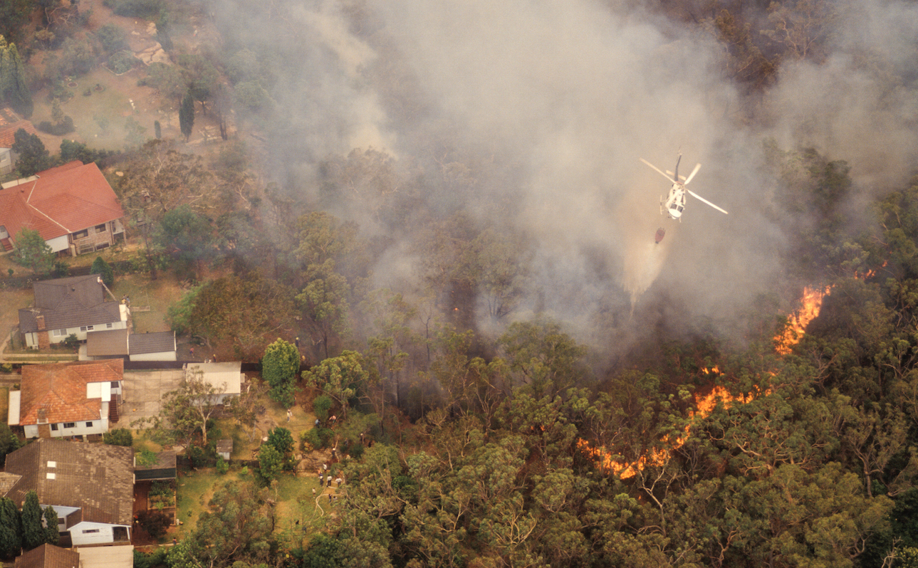 Evacuate Your Property in a Bush Fire