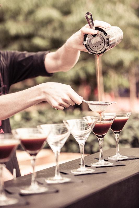 Urban Coffee Farm, Melbourne Food & Wine Festival 2014. Image credit: Daniel Mahon