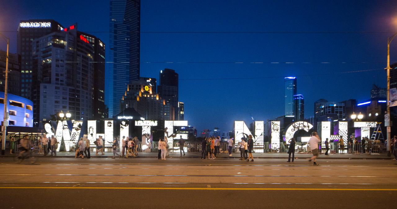 White Night Melbourne 2013. Photo Credit John Gollings