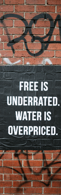 Free Is Better Water