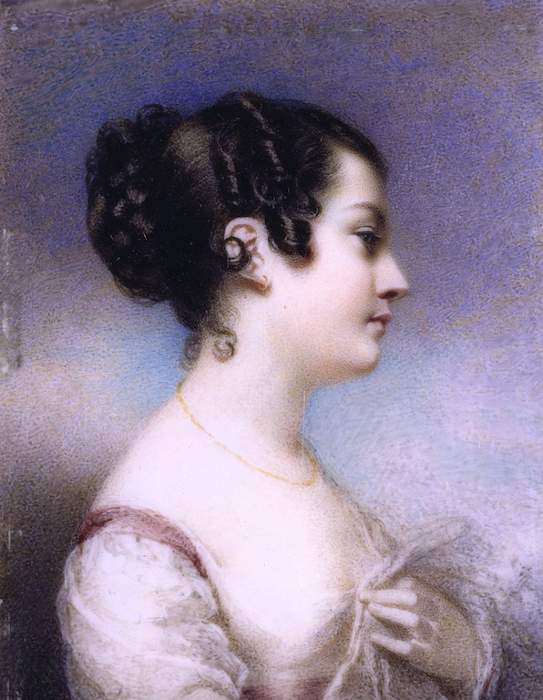Georgiana Macrae, Self portrait low res