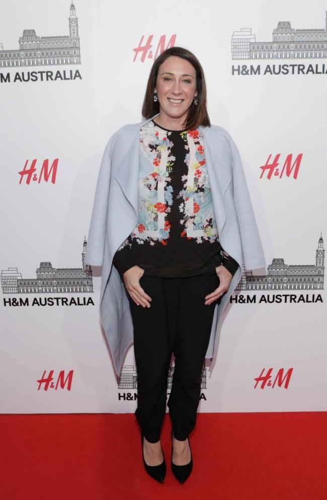 Vogue Australia's editor-in-chief Edwina McCann