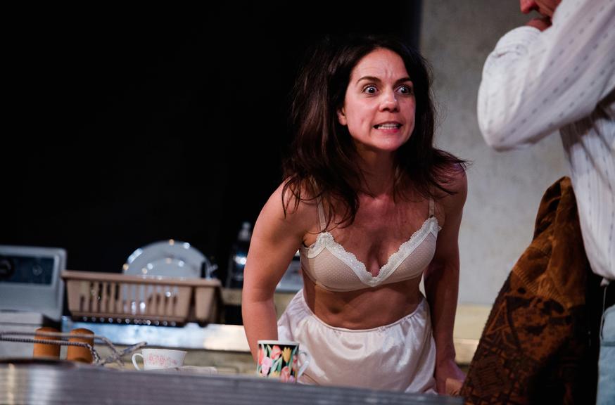 Michala Banas and Noni Hazlehurst in The Beauty Queen of Leenane – credit Lachlan Woods