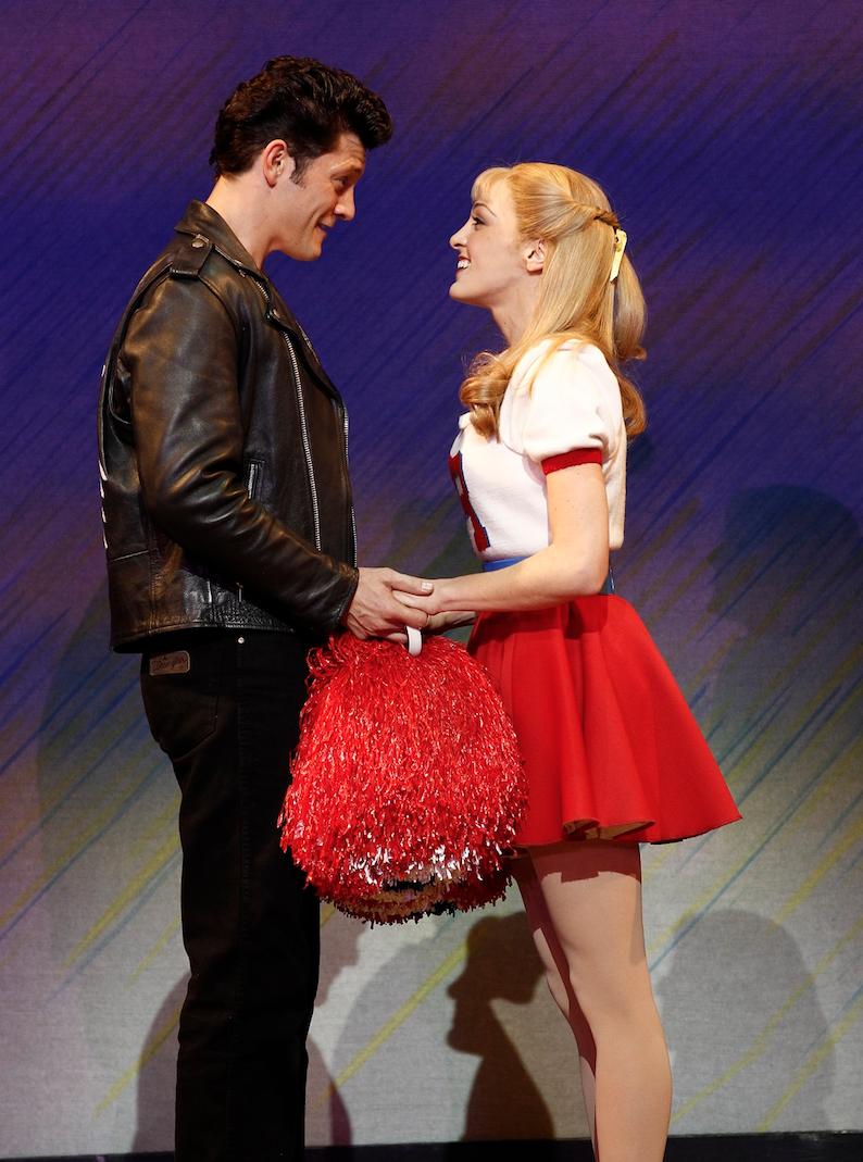 Gretel Scarlett as Sandy in Grease