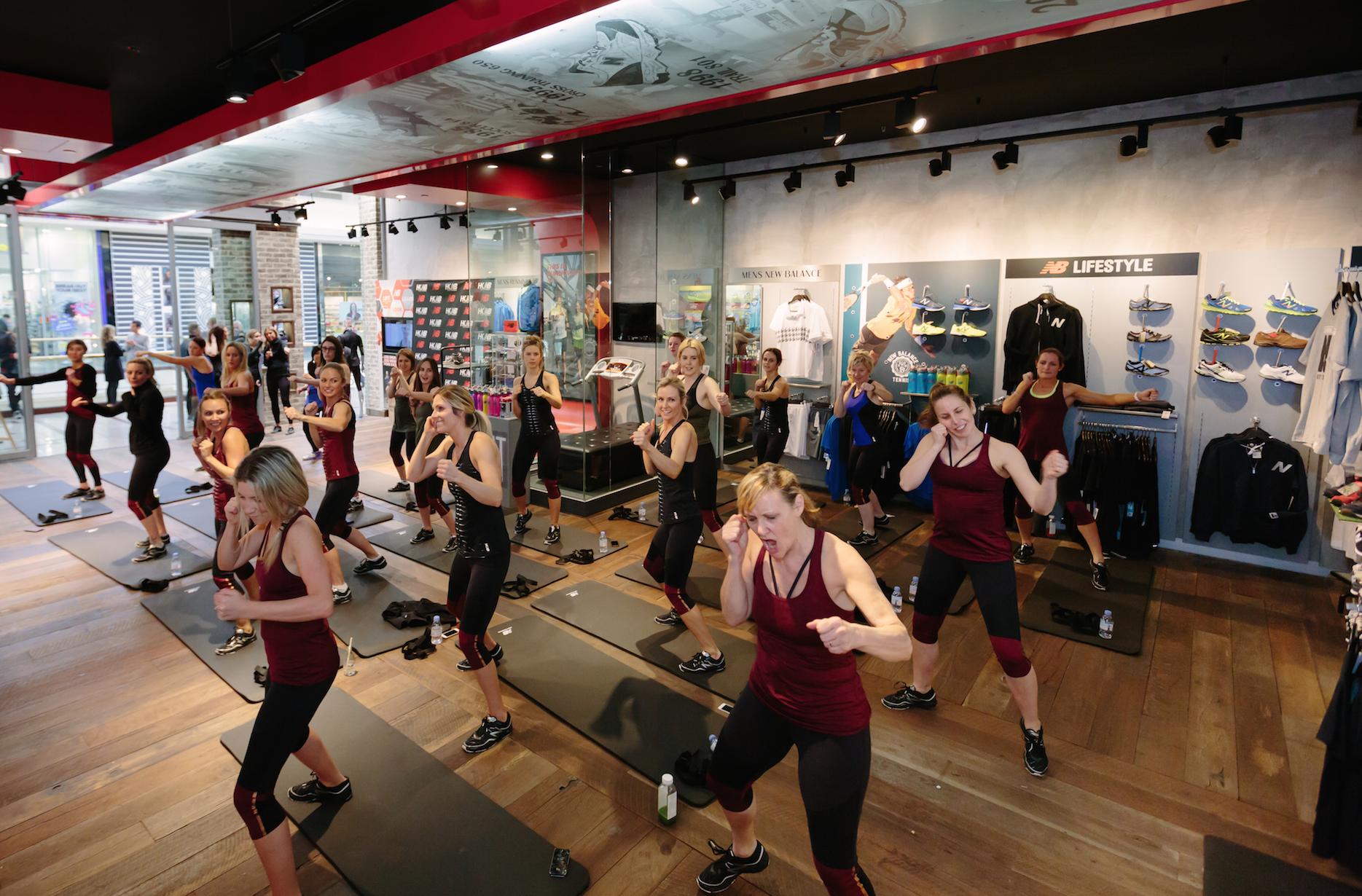Heidi Klum x New Balance Launch