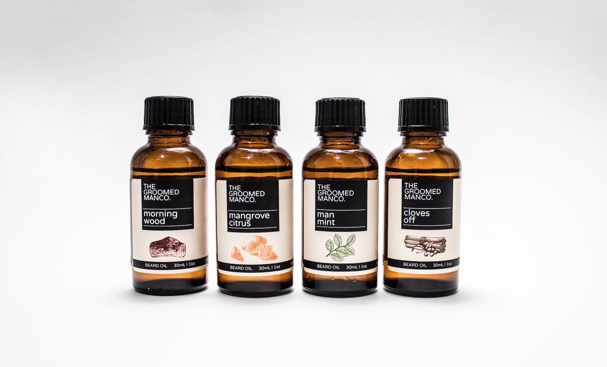 The Groomed Man Co. Beard Oils