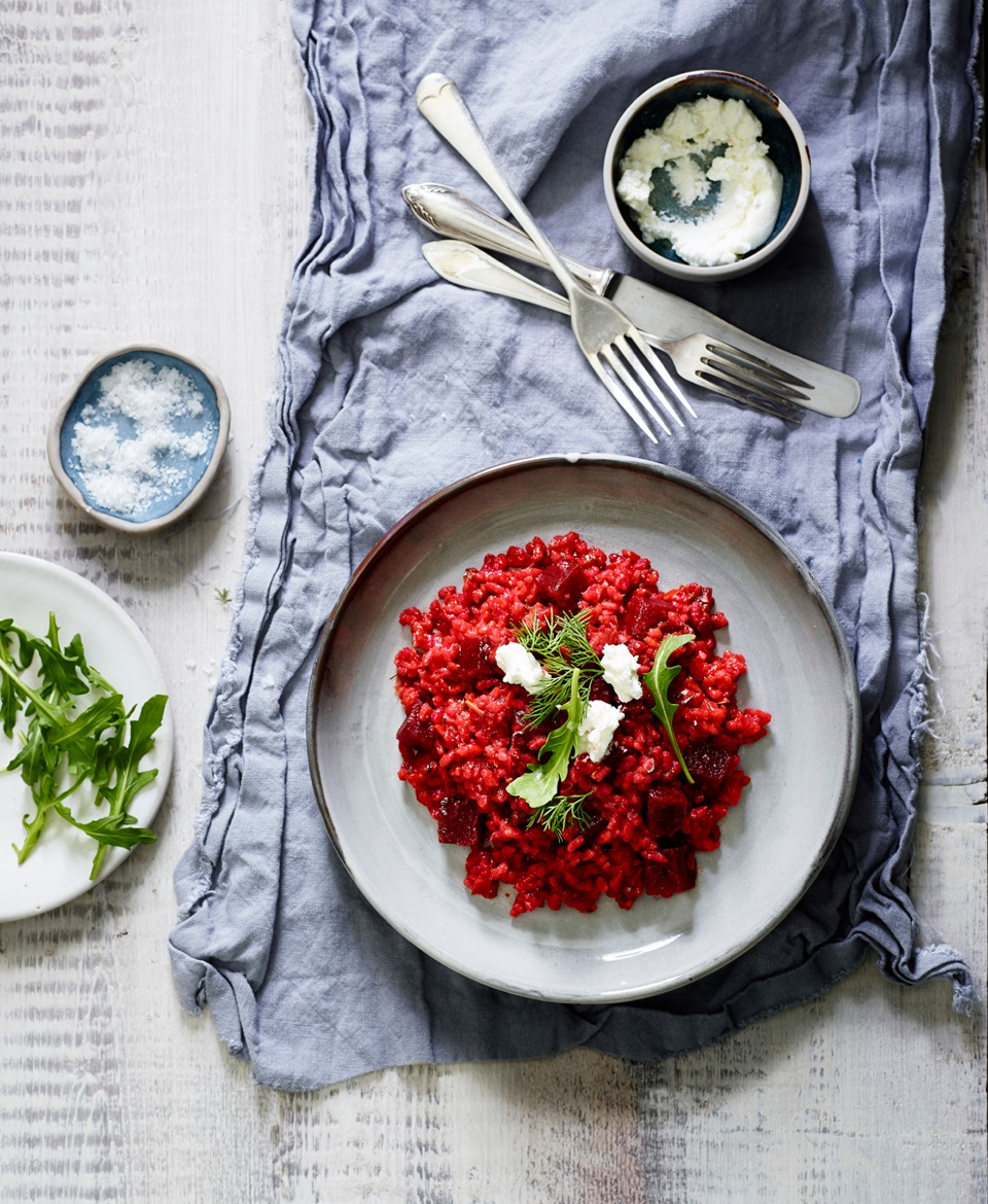 Dineamic - Beetroot Risotto