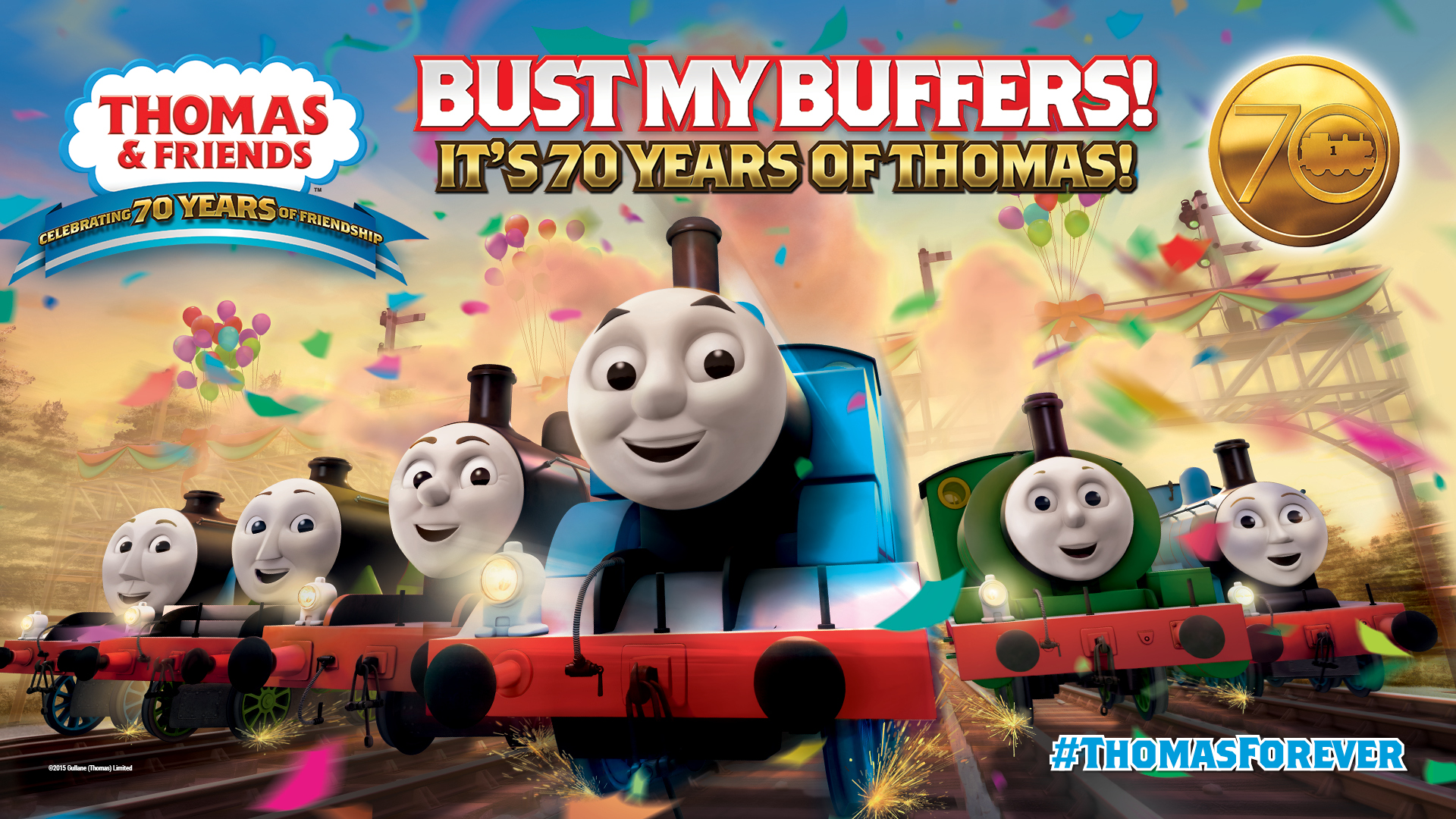 JOIN THOMAS & FRIENDS™ FOR THE ULTIMATE 70TH BIRTHDAY CELEBRATION