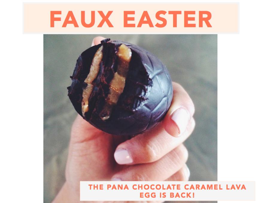 Pana Chocolate Lava Caramel Egg