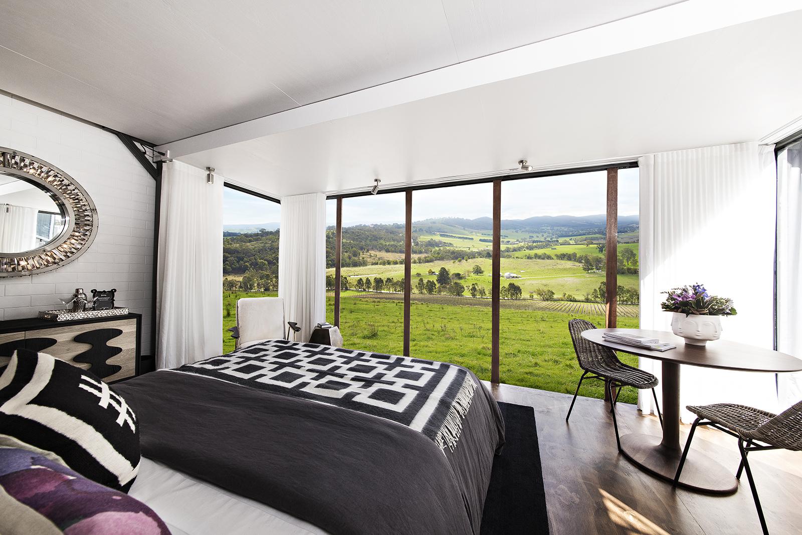 Hotel Tonight, Spontaneity Suite, TarraWarra, Yarra Valley