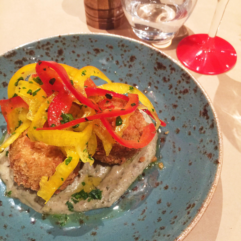 Quinoa Arancini Balls at La Svolta