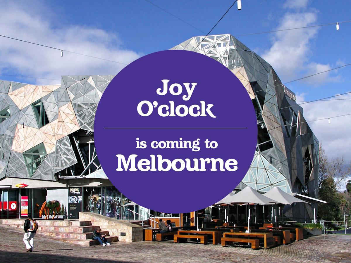 It's Joy O'clock! Cadbury brings joy to Melbourne with a huge event!