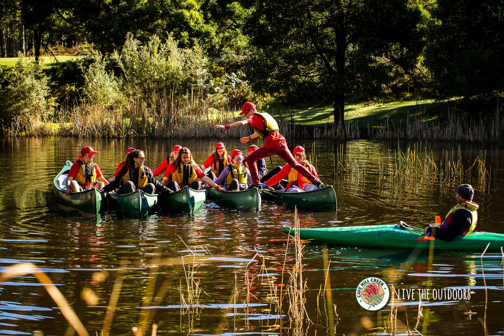 CaveHillCreek-Canoeing