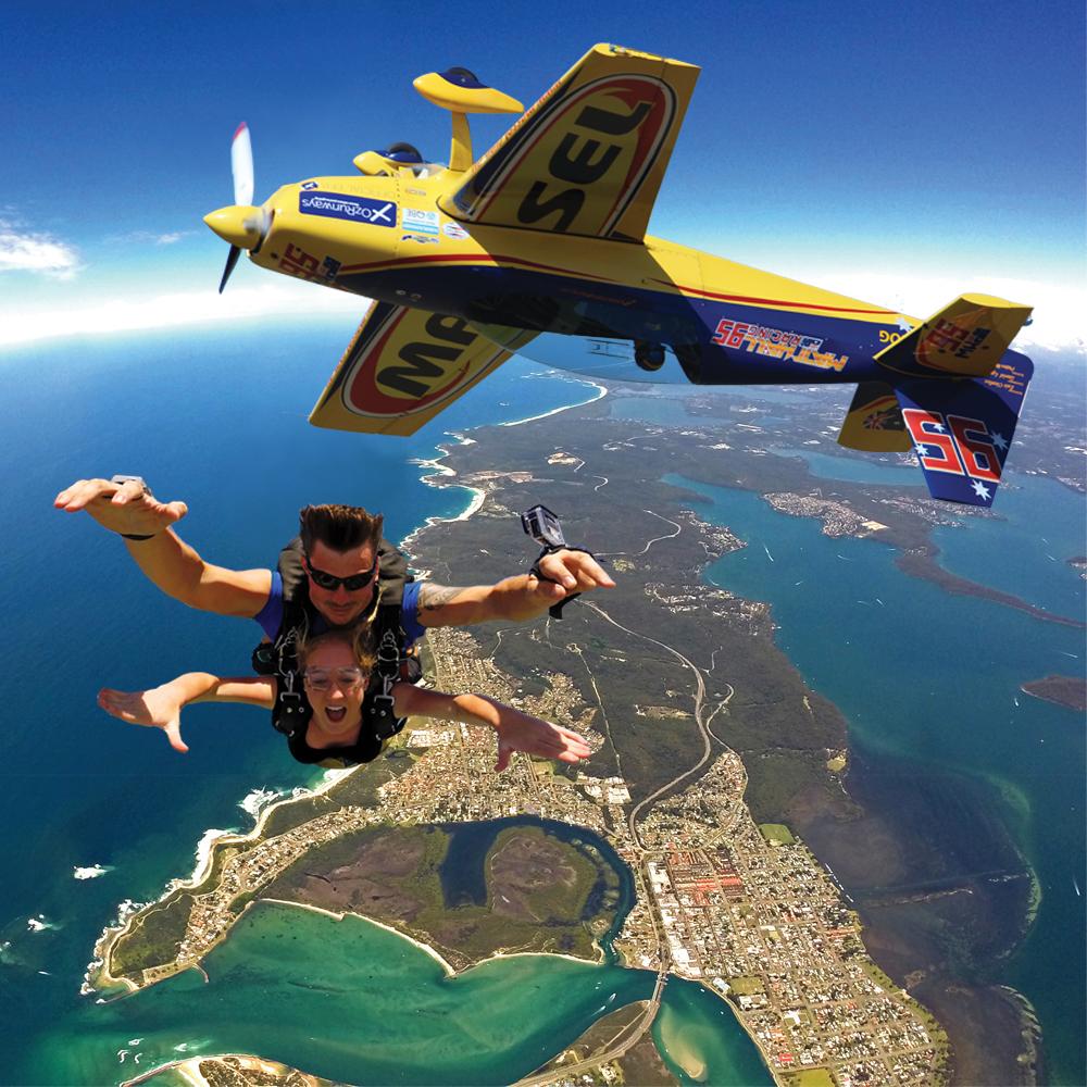 Skydiving Lake Macquarie