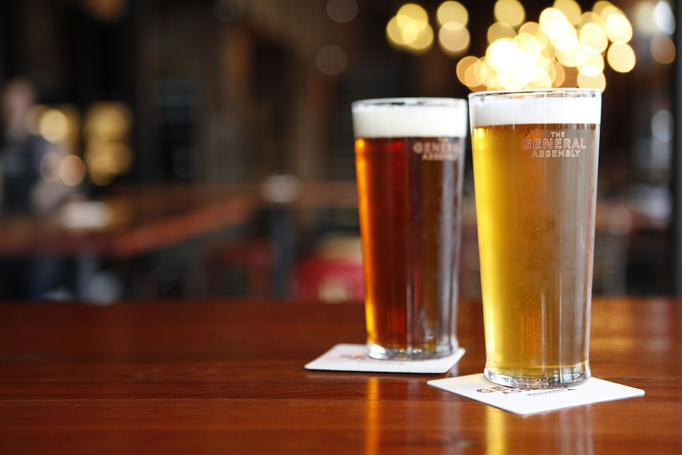 Craft Beers On Tap at The General Assembly, South Wharf Promenade LR