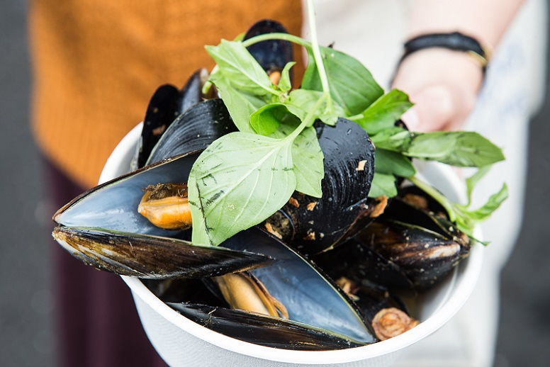 Seafood Street Party; Port Phillip Mussel Festival, South Melbourne Market, March 12 & 13, 2016 Pix 8 LR