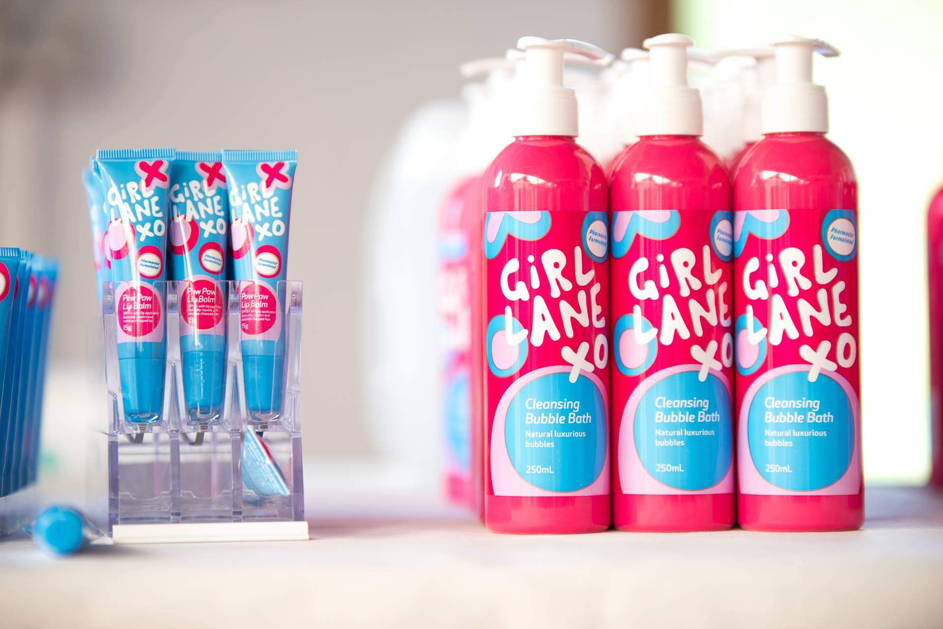 Girl Lane Tween Skincare Products