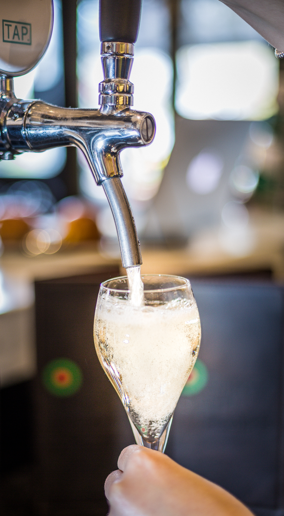 TAP. Sparkling Extra Dry