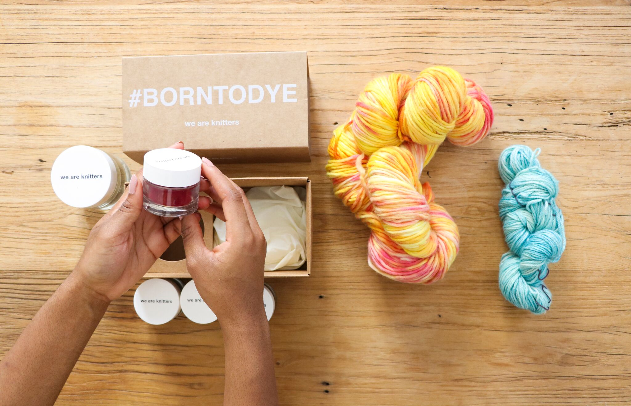 We Are Knitters: All The Happiness In A Kit + Giveaway
