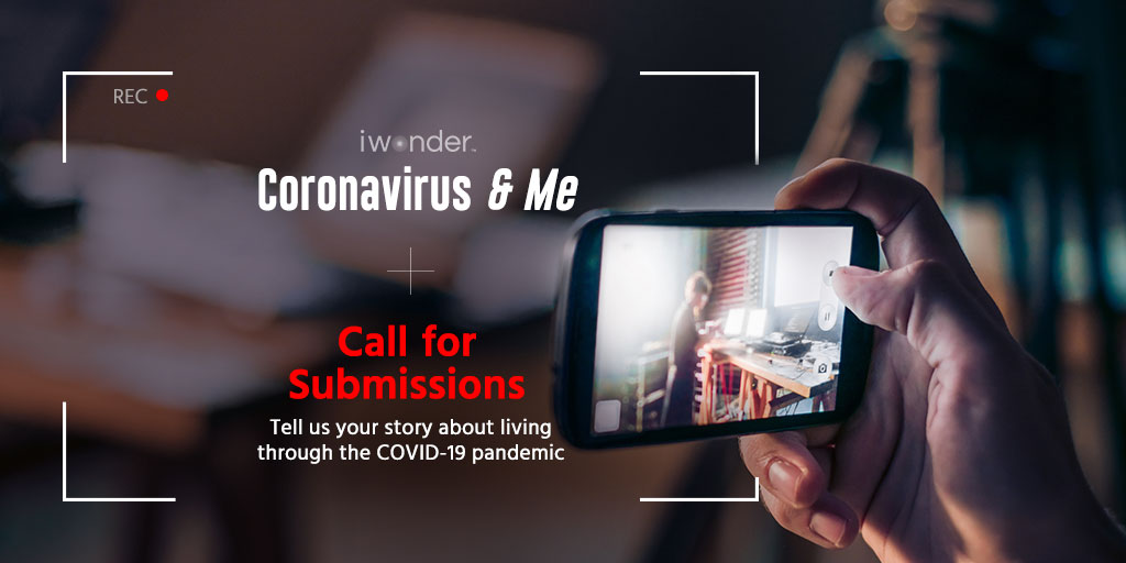 Coronavirus & Me: iwonder Calls On Australians To Star In New UGC Documentary