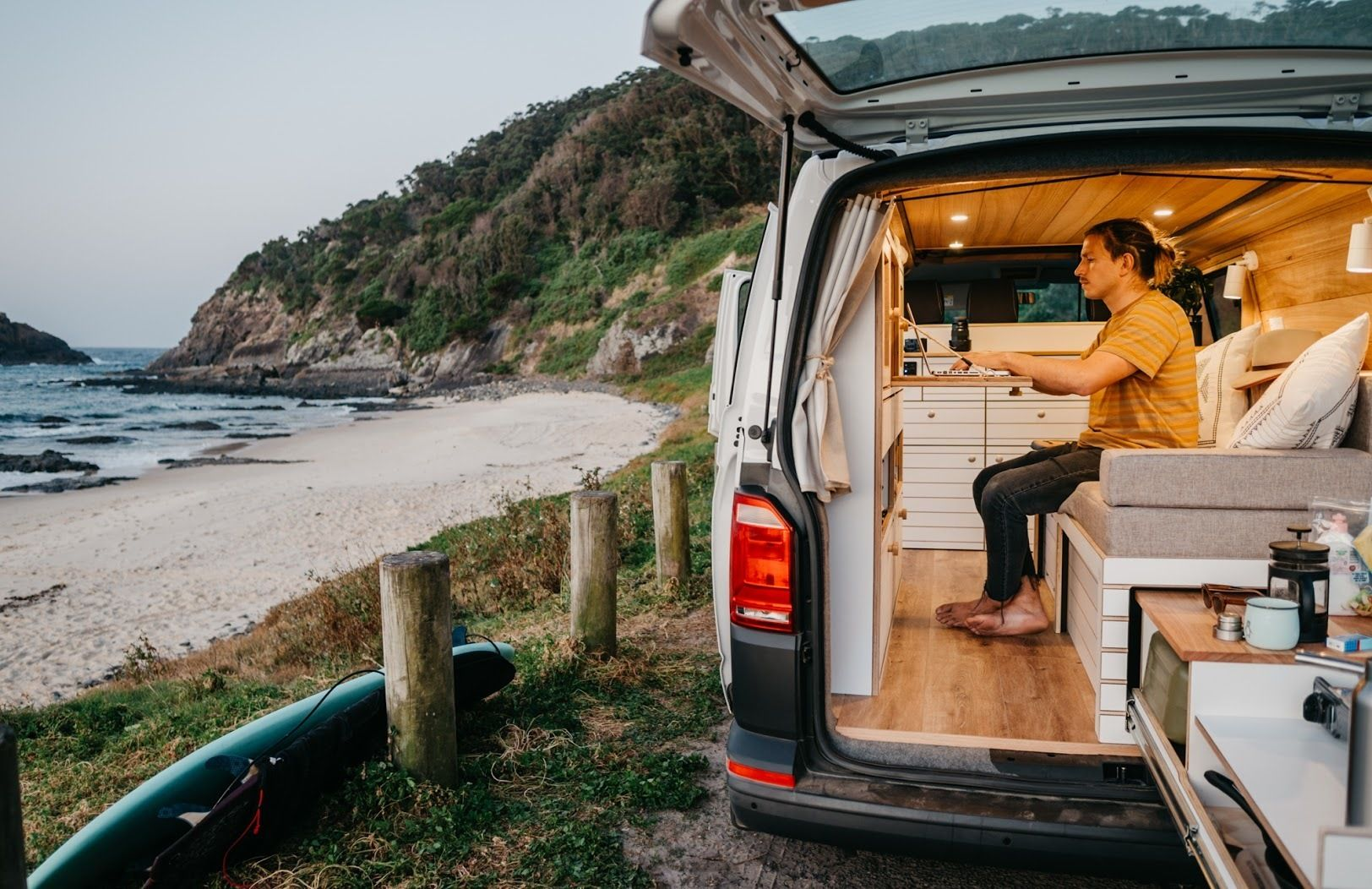 Take Your Work On The Road And Live The Van Life With Camplify