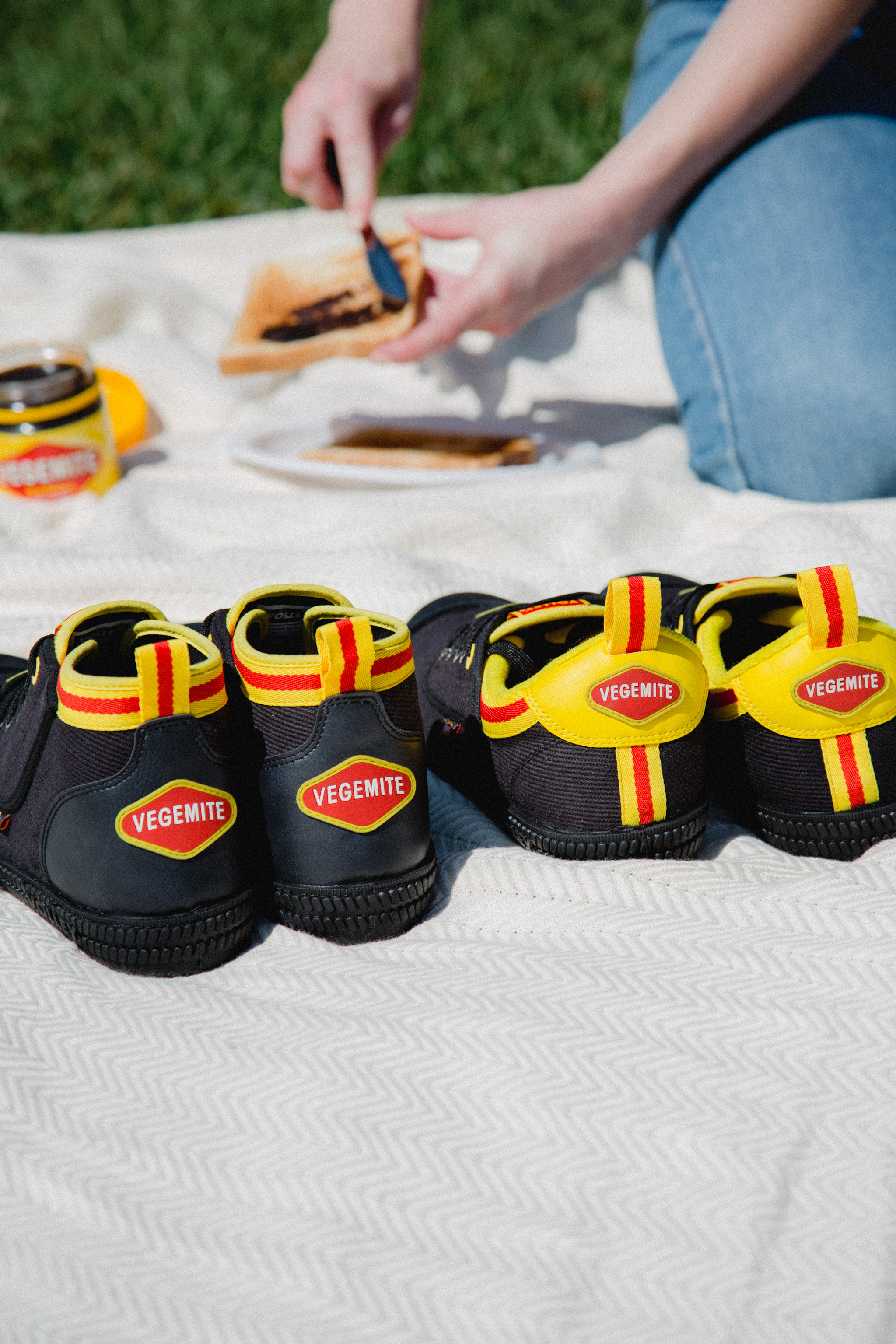 Introducing The Limited-Edition VEGEMITE x Volley Shoe