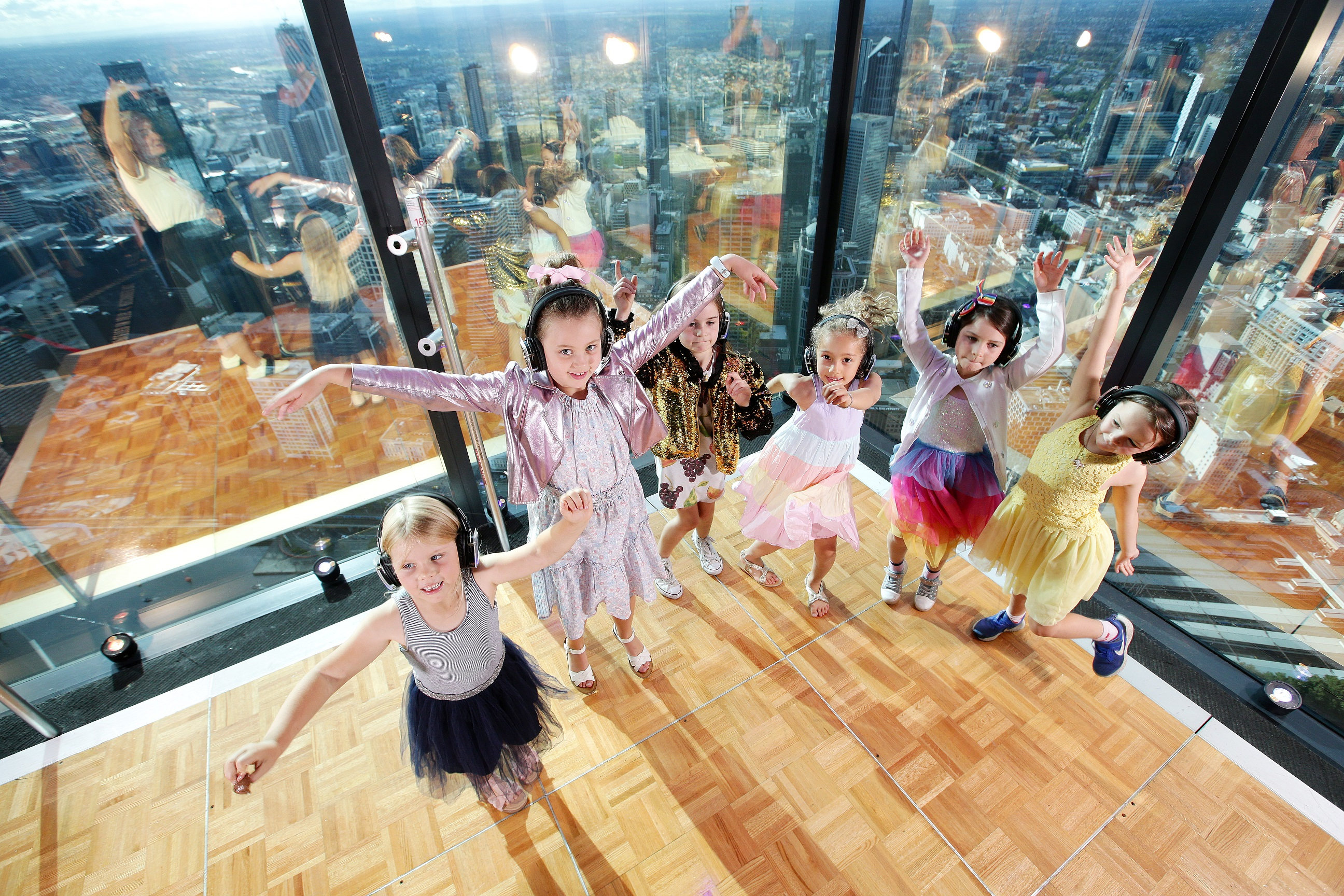 Eureka Skydeck To Host The World's Highest Silent Kids Disco