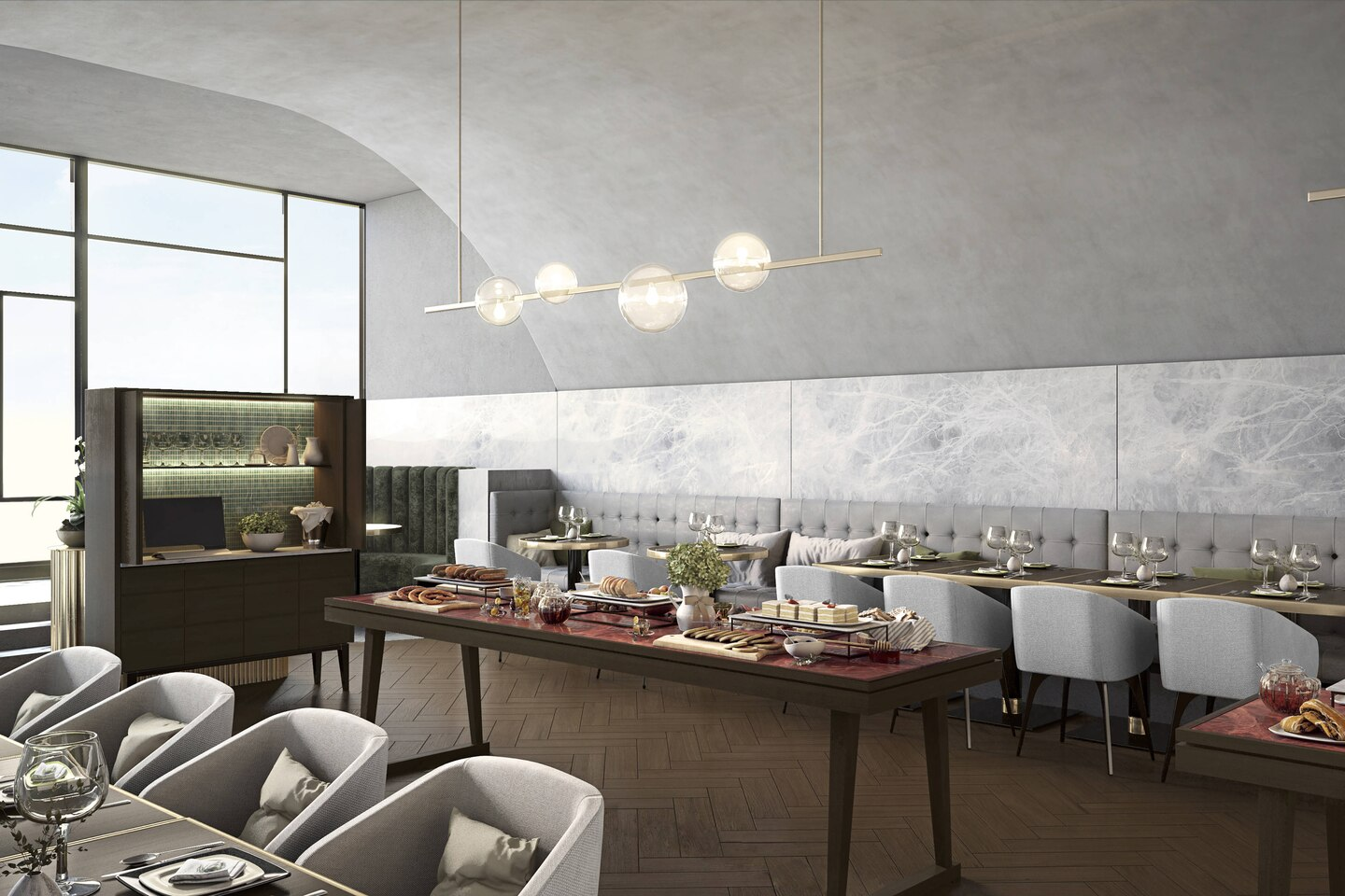 Melbourne Marriott Hotel Docklands Set To Wow With Five Star Dining