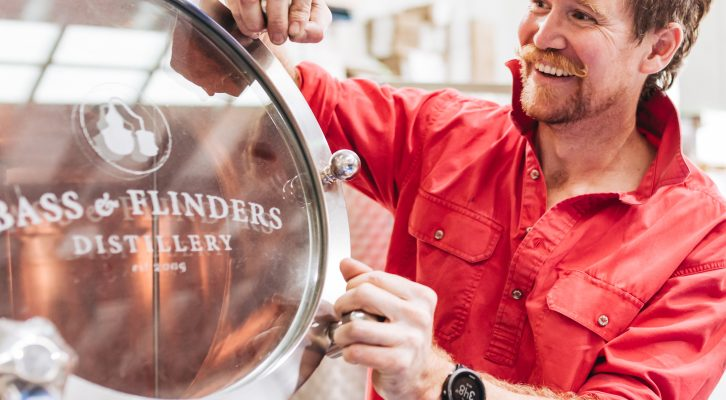 A Heartbreakingly Good Food-Focussed Gin: Bass & Flinders Release New Wine-Based Gin